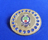 PRINCESS OF WALES'S ROYAL REGIMENT ( PWRR ) BROACH / BROOCH (GBS)